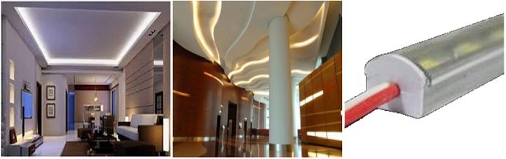 Barras led de aluminio iluminacion led decorativa - Iluminacion led decorativa ...