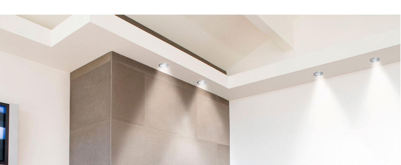 Luminaria led con sensor de luz iluminacion led para interiores lampara led para pasadizos - Luminarias para bano ...