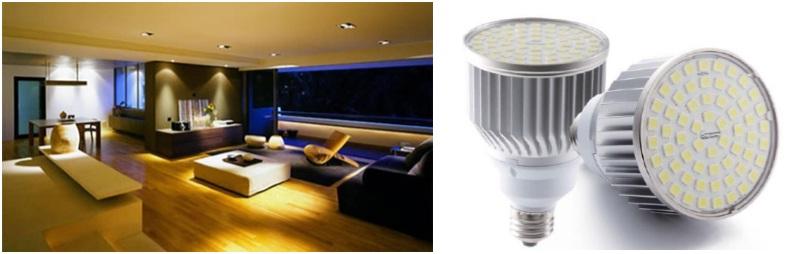 Led compac para interiores lamparas led compac iluminacion led compac para interiores - Lamparas led para interiores ...