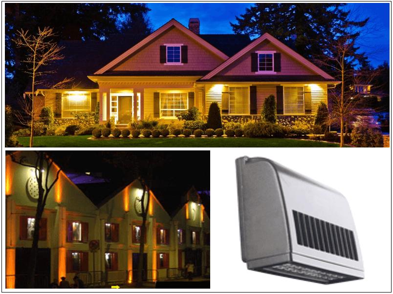 Luminarias led de fachadas lamparas led para paredes - Iluminacion led decorativa ...
