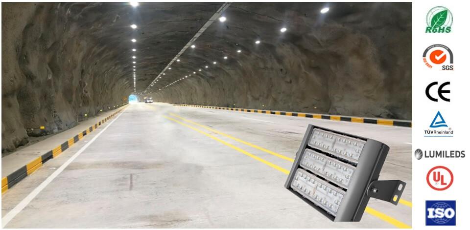 Luminarias led tunel lamparas led para tuneles for Lamparas de led para exteriores