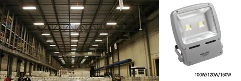 Luminarias led reflector 120w lamparas led de exteriores for Lamparas de led para exteriores